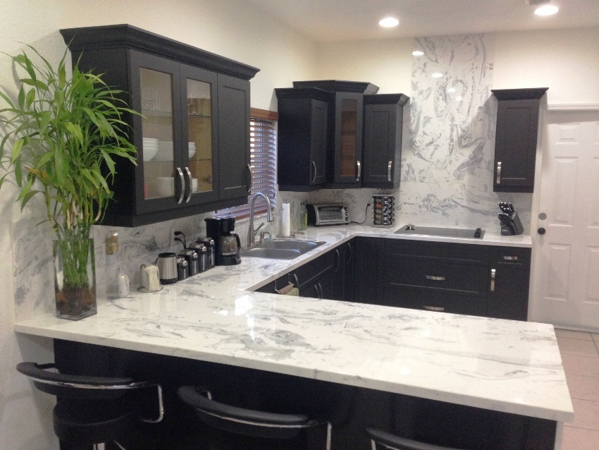 Kitchen countertops cabinets usa cultured marble - Faux marble bathroom countertops ...